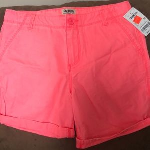 Girls Size 10 with tags shorts